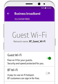 Activating Guest Wi-Fi