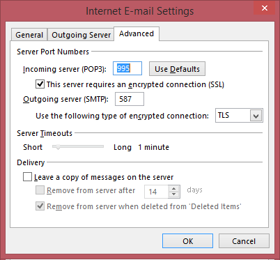btconnect server settings - Setting up an Office 365 POP