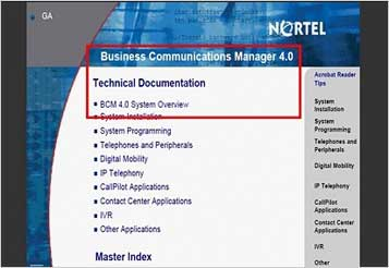 What BCM 200 or 400 software release do I have? : QueryTel