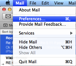 Email log-ons